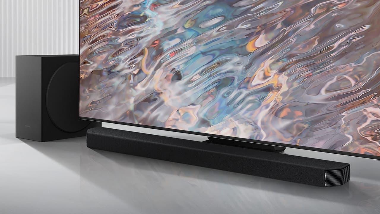 Samsung HW-Q900A Soundbar and Subwoofer with TV
