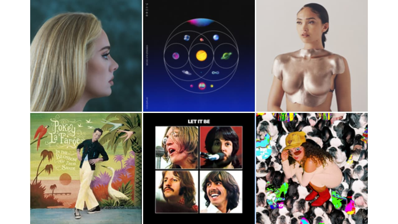 New albums from Adele, Coldplay, The Beatles, Adele, Remi Wolf, Pokey LaFarge and Joy Crookes