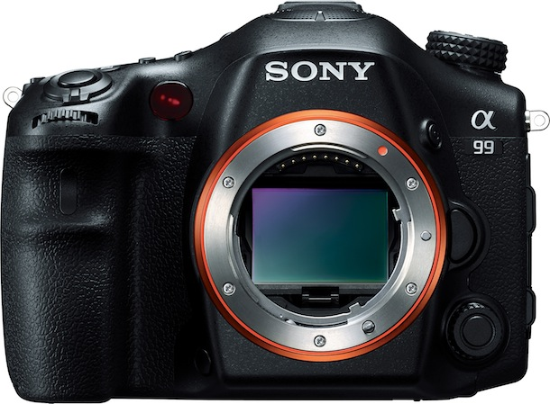 Sony SLT-A99 Digital Camera - front
