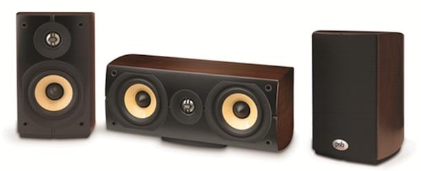 PSB mini c with bookshelf speakers