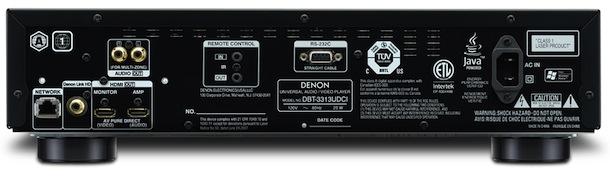 Denon DBT-3313UDCI - back