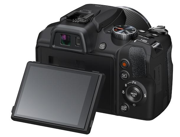 FujiFilm FinePix SL1000 - Tilt LCD