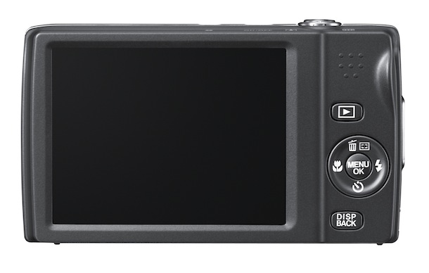 FujiFilm FinePix T550 - back