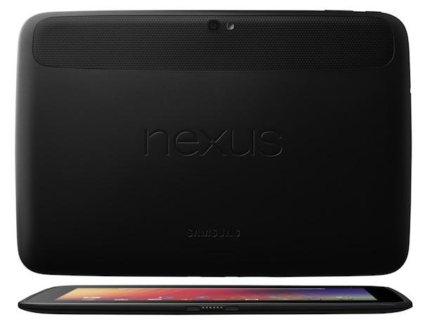 Nexus 10 - back