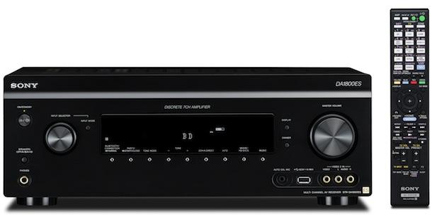 Sony STR-DA1800ES - front