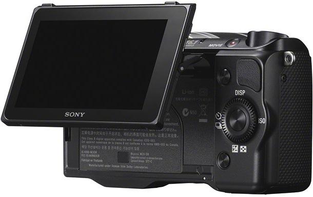 Sony NEX-5r - back