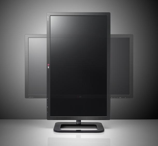 LG EA83 ColorPrime Monitor Rotate