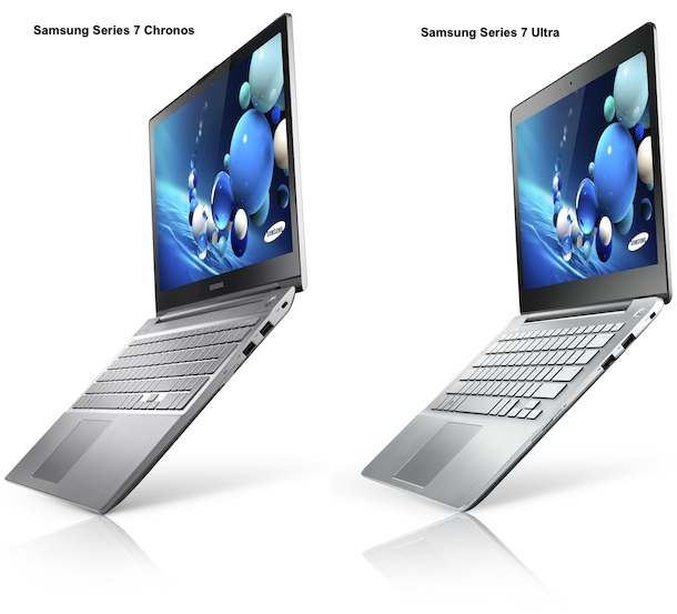 Samsung Series 7 Chronos and Ultra