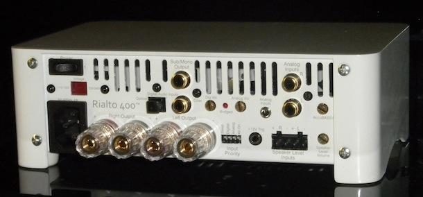 AudioControl Rialto 400 - back