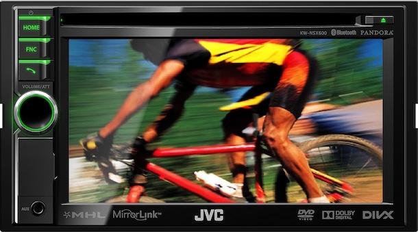 JVC KW-NSX600 - front