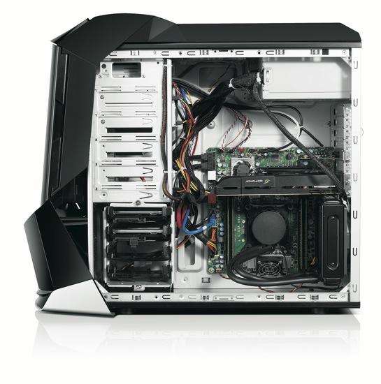 ERAZER X700 - inside