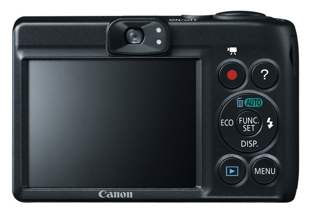 Canon PowerShot A1400 Digital Camera - back