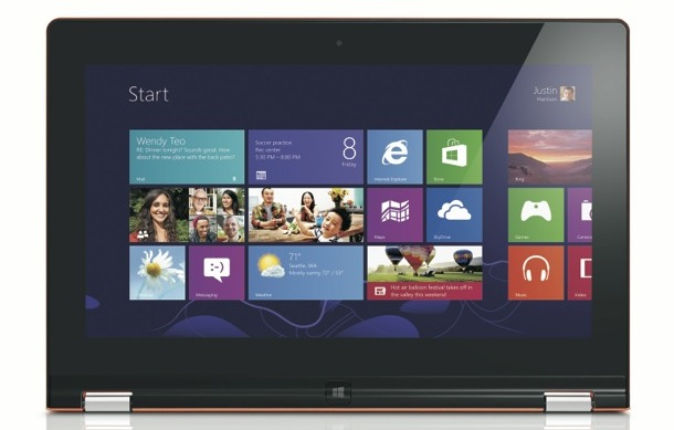 Lenovo IdeaPad Yoga 11S - Windows 8
