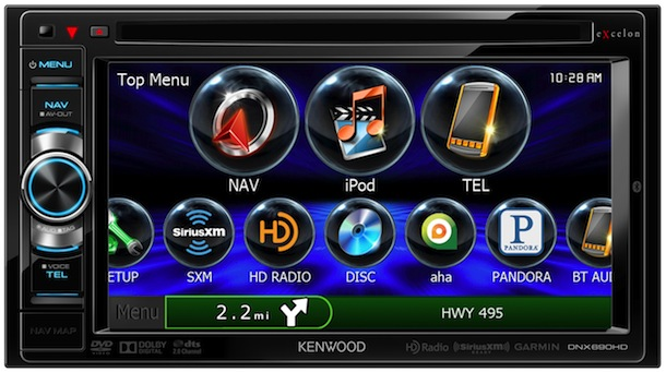 Kenwood DNX690HD