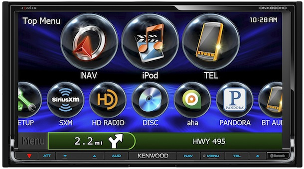Kenwood DNX690HD and DNX890HD In-Dash Navigation Systems