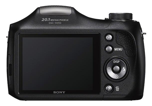 Sony DSC-H200 - rear