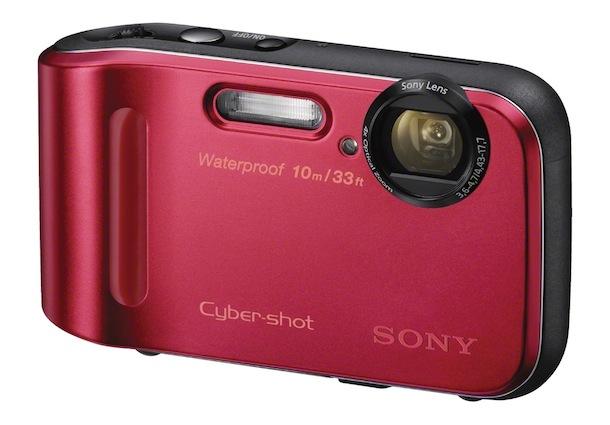 Sony DSC-TF1 - red