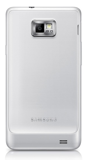 Samsung GALAXY S II Plus - back