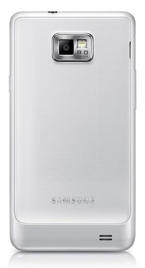 Samsung GALAXY S II Plus - back