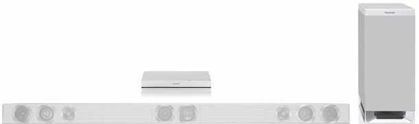 Panasonic HTB770 - bar configuration