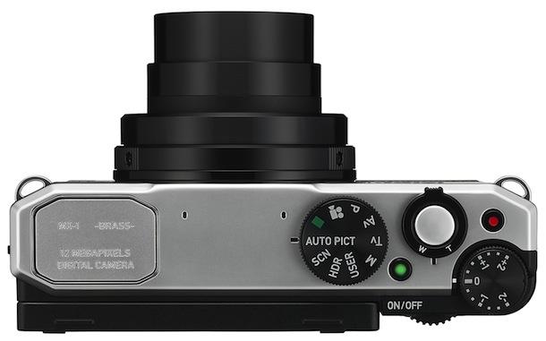 PENTAX MX-1 Digital Camera - top