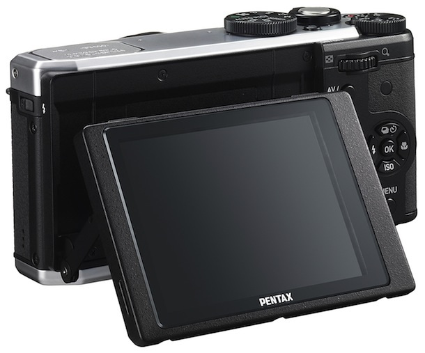 PENTAX MX-1 Digital Camera - tilt LCD