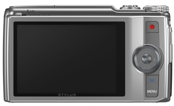 Olympus STYLUS SH-50 iHS Digital Camera - back
