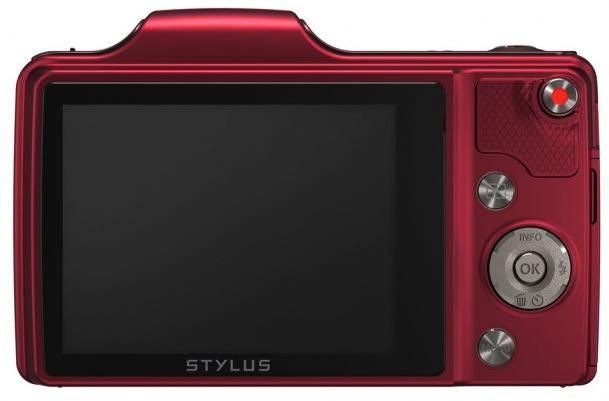 Olympus STYLUS SZ-15 - back
