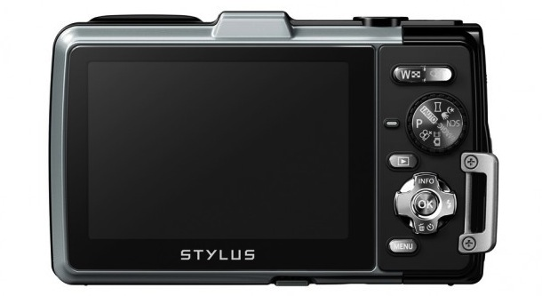 Olympus STYLUS TOUGH TG-830 iHS - back