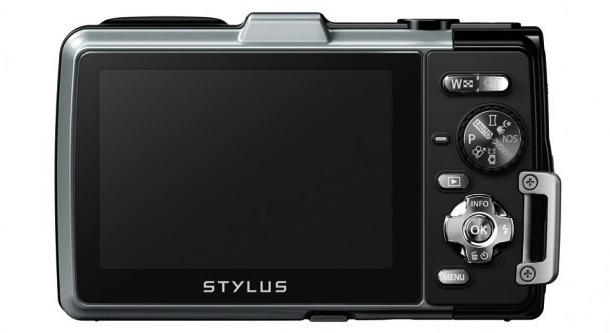 Olympus STYLUS TOUGH TG-830 iHS - back