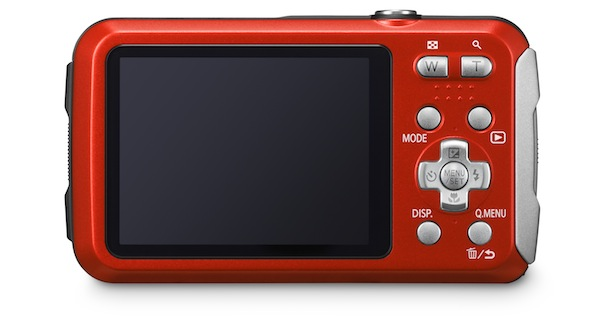 Panasonic DMC-TS25 - back