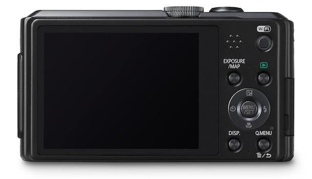 Panasonic LUMIX DMC-ZS30 - back