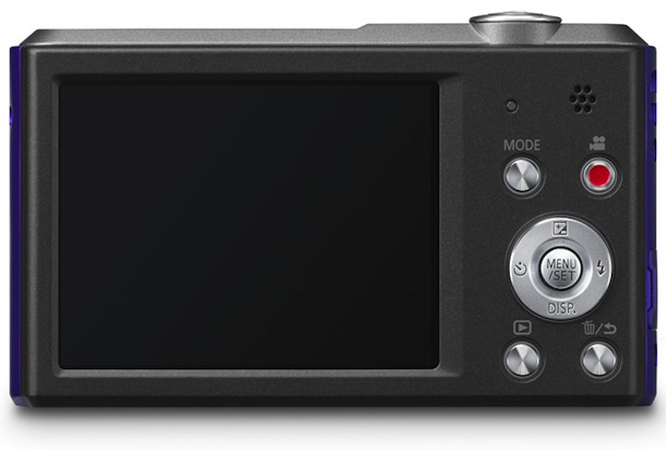 Panasonic Lumix DMC-SZ3 - back