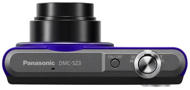 Panasonic Lumix DMC-SZ3 - top