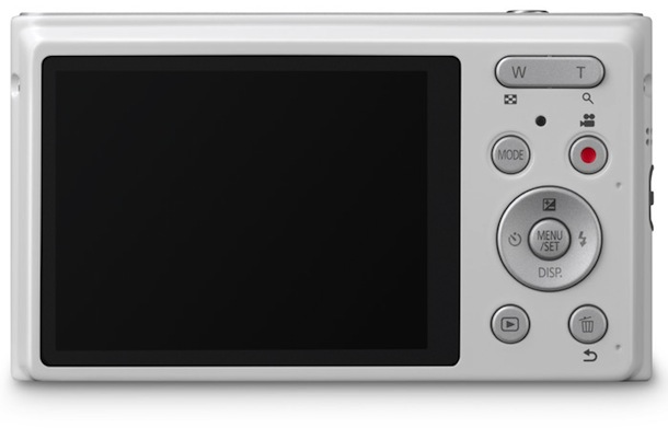 Panasonic LUMIX DMC-XS1 - back