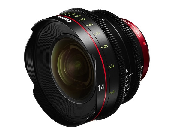 Canon CN-E14mm T3.1 L F single-focal-length lens