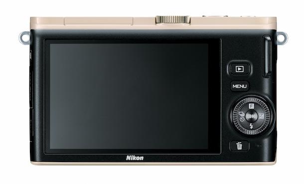 Nikon 1 J3 Digital Camera - back