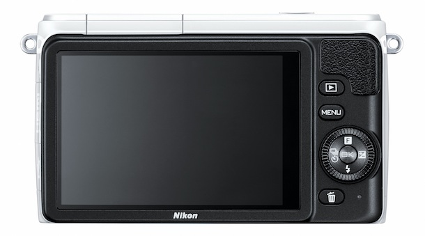 Nikon 1 S1 Digital Camera - back
