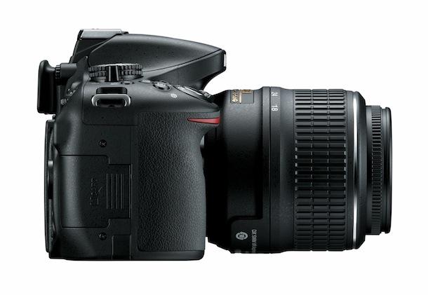 Nikon D5200 - right