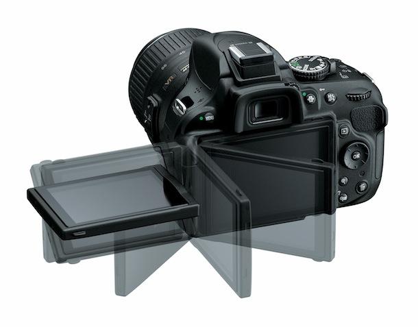Nikon D5200 - LCD