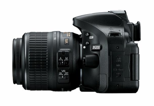 Nikon D5200 - left