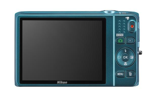 Nikon COOLPIX S6500 Digital Camera - back