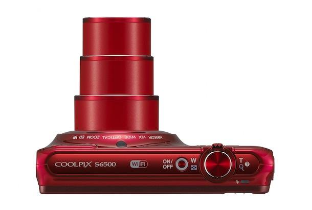 Nikon COOLPIX S6500 Digital Camera - top