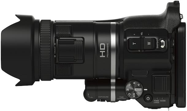 JVC GC-PX100 Procision Camcorder - top
