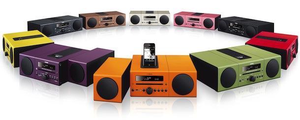 Yamaha MCR-B142 - Colors