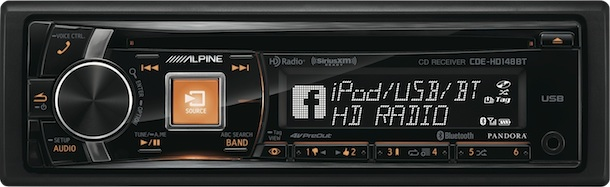 Alpine CDE-HD148BT