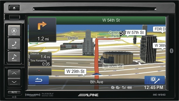 Ine W on Alpine Car Stereo With Bluetooth