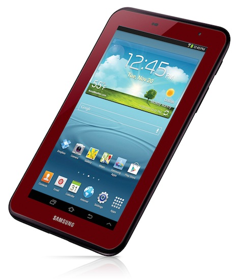 Samsung  Garnet Red Edition Galaxy Tab 2 7.0