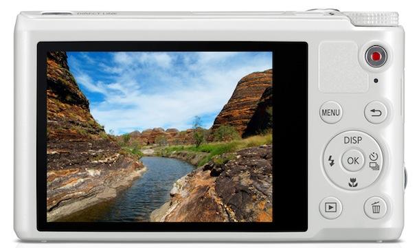 Samsung WB250F - back