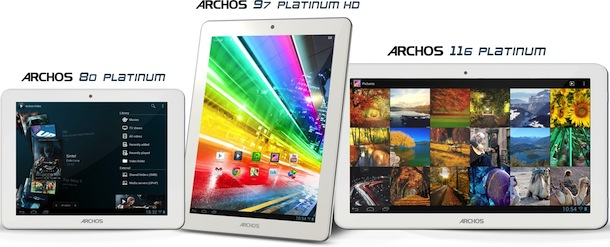 ARCHOS Platinum Tablets